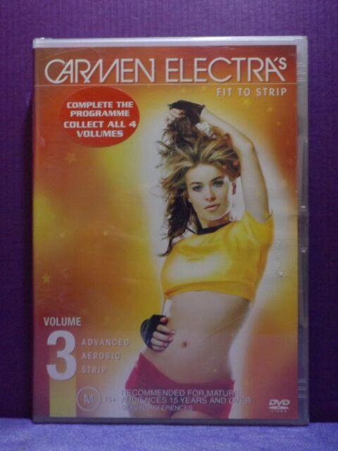 CARMEN ELECTRA 3 -  FIT TO STRIP - Advanced Aerobic Strip NEW DVD