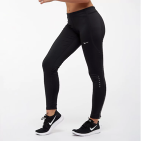 Nike-Power-Tight-Fit-Womens-Leggings-Black-Size-XS-Sportswear-Bottoms-Gym-Yoga