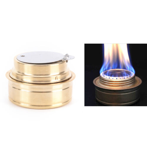 Copper Alcohol Stove Mini Ultra-light Spirit Burner Gas Stoves Outdoor CampiNIU
