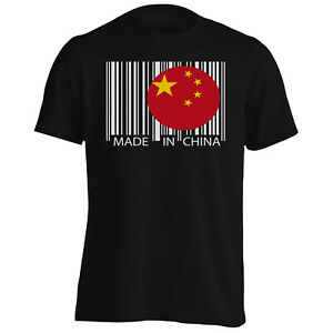 Made-in-China-Travel-World-Funny-Novelty-Tee-Shirt-Homme-Tank-Top-uu41m