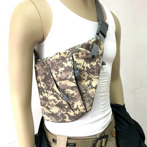 Men/'s Military Tactical Chest Bag Pack Outdoor Sports Nylon Crossbody Bag Pouch