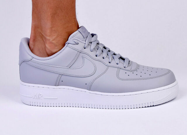 Nike Air Force 1 '07 Low AF1 Men Lifestyle Shoes New Wolf Grey White AA4083 010