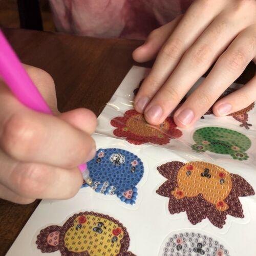 Animal Crossing 5D Diamond Painting Stickers Sticker Kit DIY Stocking Stuffer