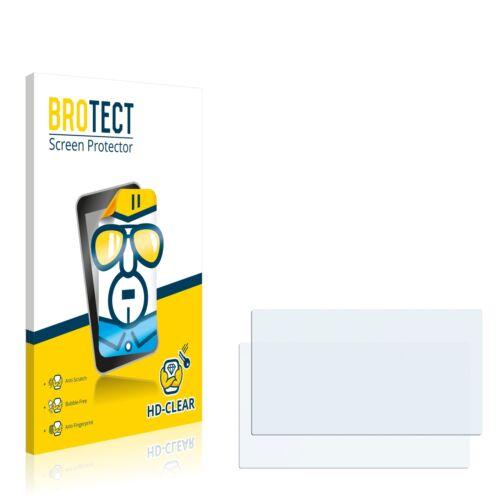 2x brotect protector de pantalla claro renault media nav Clio lámina protectora