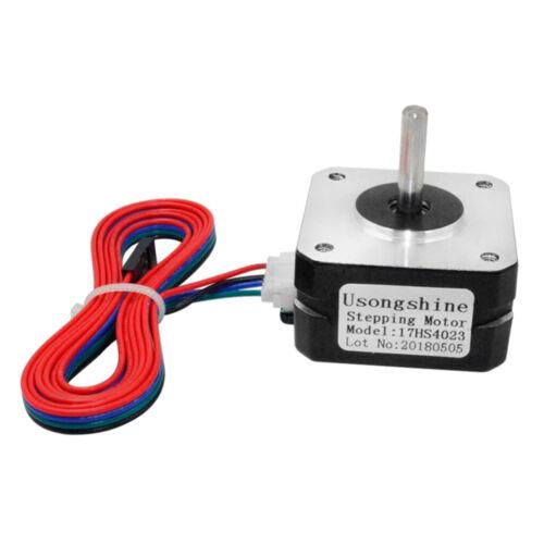 17HS4023 NEMA 17 Schrittmotor 2 Phasen Einheitssteuerung mit Kabeln