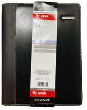 2021 At A Glance Zipper Padfolio Planner Weeklymonthly Appointment Book