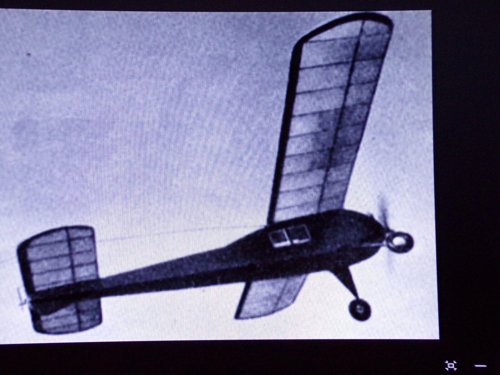 Vintage  Queen Bee   48  Sport Hi-Wing Airplane     Laser Cut Short Kit