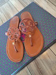 Tory-Burch-Miller-Sandals-Vintage-Vachetta-Size-8