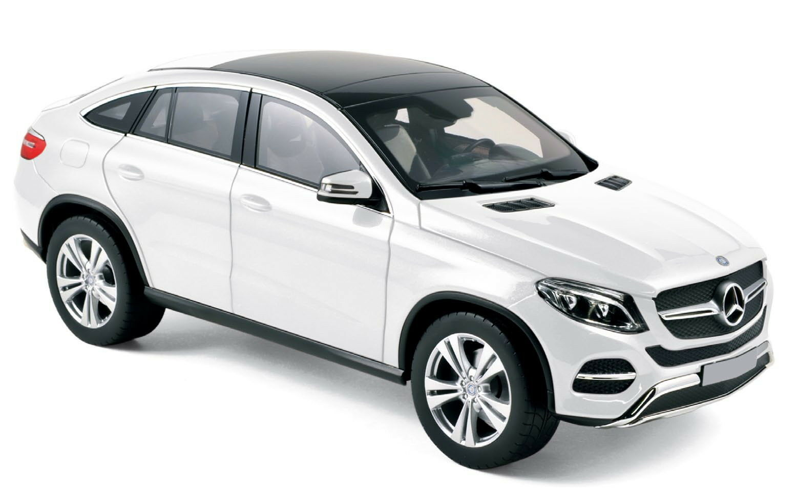 NOREV 1 18 2015 MERCEDES-BENZ GLE COUPE Diecast Voiture Blanc 183460WH