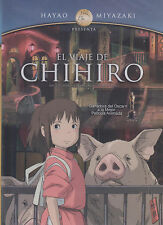 DVD - El Viaje De Chihiro NEW Hayao Miyazaki Spirited Away FAST SHIPPING !