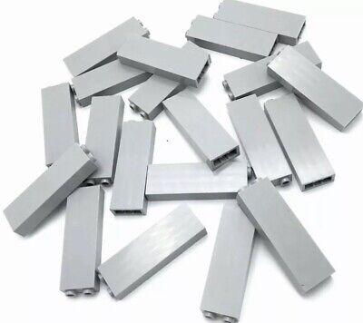 Bulk Medium Stone Gray Brick Plates Part Lego X100 Light Bluish Gray 1x2 Plate
