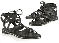 DOLCIS WYOMIE WOMENS SANDALS GLADIATOR LACE-UP FLATS SHOES BRAND NEW **CHOOSE**
