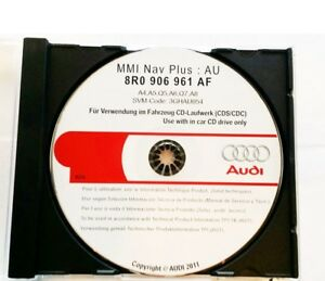 Genuine Audi Mmi Software Update CD RAF For Audi Mmi High G - Audi mmi update