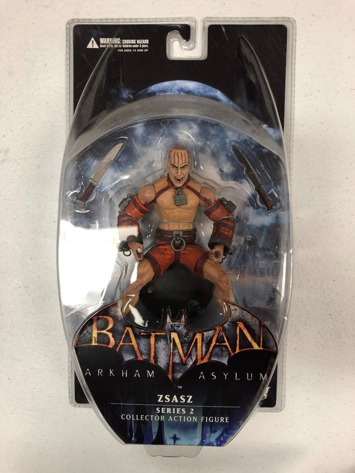 Batman Arkham Asylum Series 2 Zsasz Figure DC Direct 2011