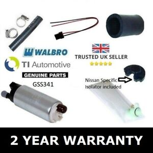 WALBRO 255 FUEL PUMP KIT FOR NISSAN 200sx S13 S15 SR20DET S14a s14