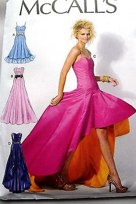 McCall/'s 6701 Out of Print Sewing Pattern to MAKE Flared Lined /& Boned Dress