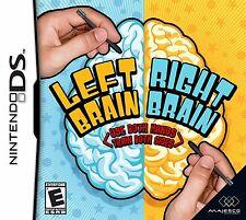 Left Brain Right Brain DS