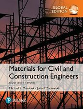 Materials for Civil and Construction Engineers by John P. Zaniewski and Michael S. Mamlouk (2016, Hardcover)