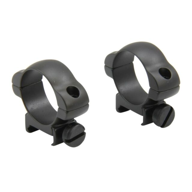 30mm Low Profile Tactical Rifle Scope Steel Rings Picatinny Weaver Rail SR-34