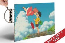POSTER PONYO & SOSUKE * miglior scena Miyazaki animazione film A4 lucida foto