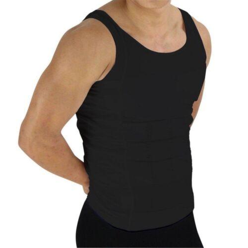 NIP Beautyko Size XXL 2X Men/'s Black Compression Under Tank Top