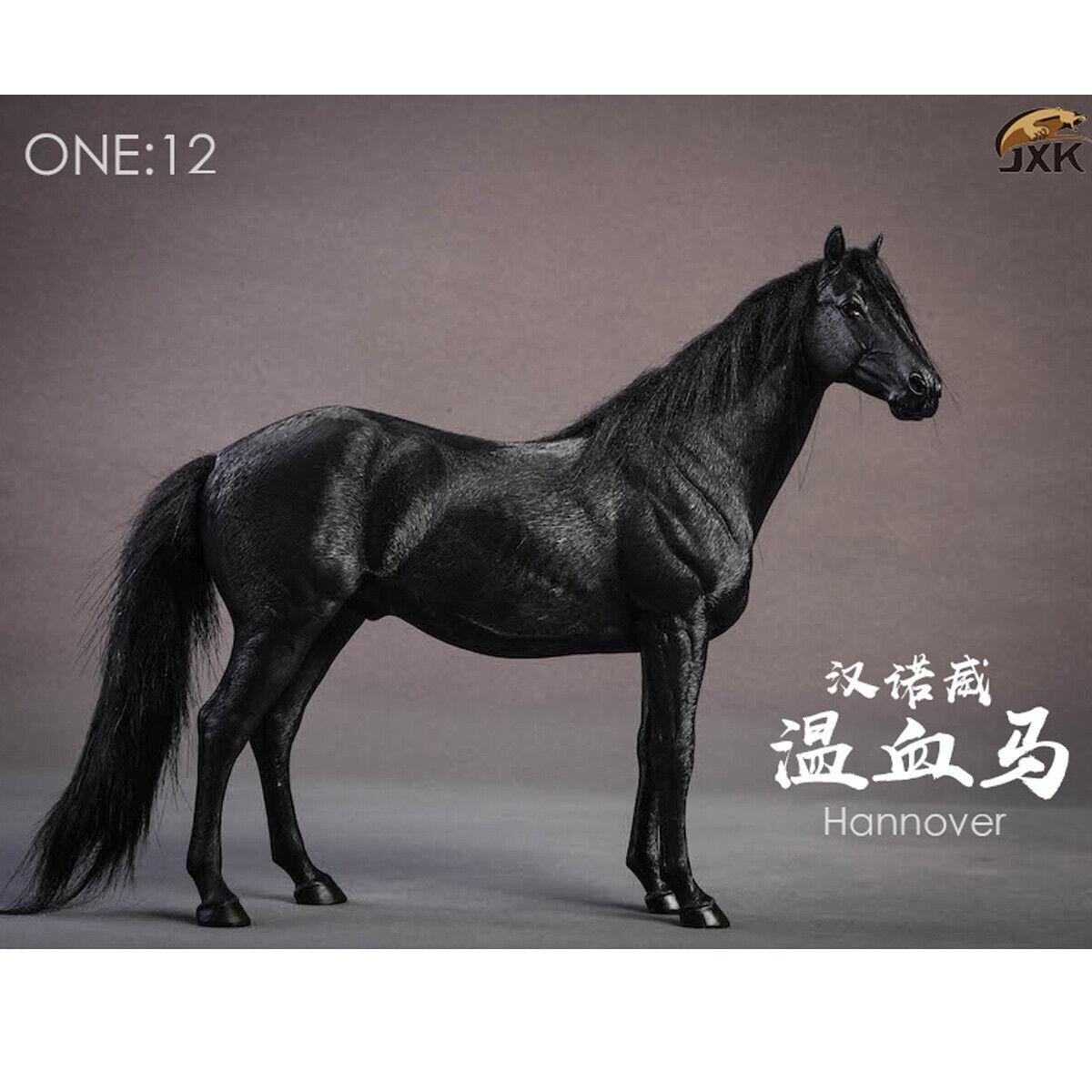 JXK Studio JXK013E 1 12 Scale Germany Hannover Animal Hanoverian Horse Model