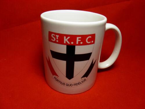 1 x Ceramic 11oz Coffee Tea Mug St KILDA SAINTS YOUR DESIGN OR LOGO