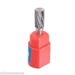 "Cylindrical Cut Tungsten Carbide Burr Bur Cutting Tool Die Grinder Bit 1//4/"" F6*1"