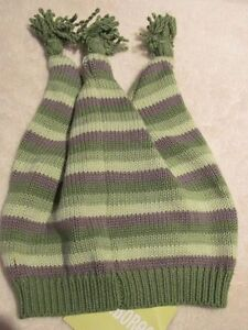 Gymboree NEWBORN ESSENTIALS Blue Stripe Cotton Knit Sweater Hat NWT NB 0-3