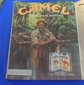 1982 Near Mint Print Ad Poster Camel Where a Man Belongs ...
