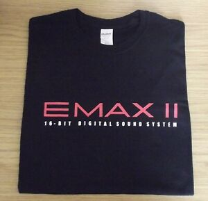 RETRO-SYNTH-T-SHIRT-SAMPLER-DESIGN-EMAX-2-EMU-16-bit-sampler-S-M-L-XL-XXL