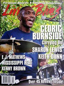 LIVING-BLUES-Magazine-247-2017-CEDRIC-BURNSIDE-Paramount-Records-KEITH-DUNN