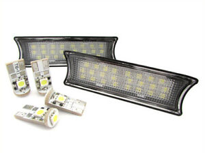 A2ZWORLD-SET-TECHO-LAS-LUCES-LED-DI-CORTES-A-LECTURA-BMW-E90-E91-E92-4-LAMPARAS