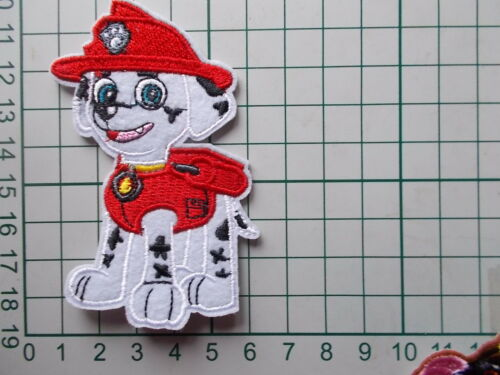 Sew on Patch Applique Badge Paw Patrol Type Embroidered Iron