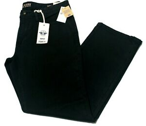 Men-039-s-Dockers-Black-Alpha-Khaki-Jean-Cut-Stretch-Straight-Fit-Pants-0004