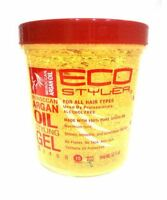 Ecoco Ecostyler Styling Gel, Moroccan Argan Oil, 32 Oz (pack Of 2) on sale