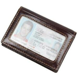 Mens-Women-RFID-Genuine-Leather-ID-Credit-Card-Holder-Case-Pocket-Wallet-Bifold