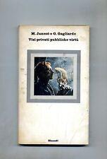 Jancsò - Gagliardo # VIZI PRIVATI PUBBLICHE VIRTÚ # Einaudi 1976