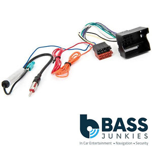 vauxhall corsa d 2006 on car stereo aerial iso wiring harness rh ebay co uk