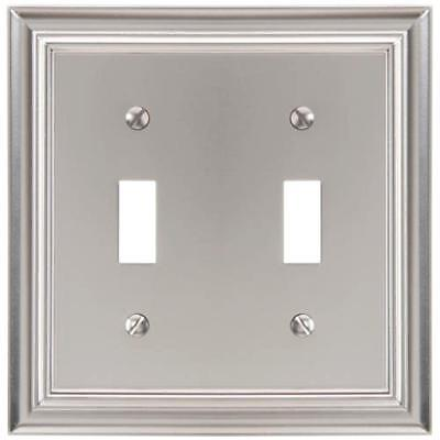 Amerelle 174 Quot Decor Collection Quot Satin Nickel Dual Toggle