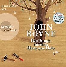 Der-Junge-mit-dem-Herz-aus-Holz-5-CD-s-von-Boyne-John-Buch-Zustand-gut