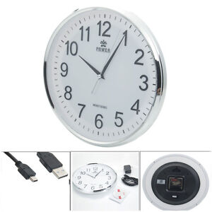 Wireless HD 720P Alarm Clock Security Hidden Camera DVR Digital Video Nanny Cam