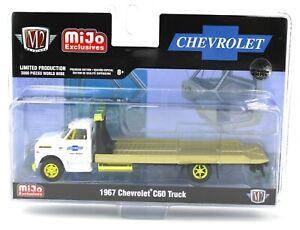 1:64 M2 Machines *MiJo* White 1967 Chevrolet C60 Rollback Wrecker CHASE *NIP*