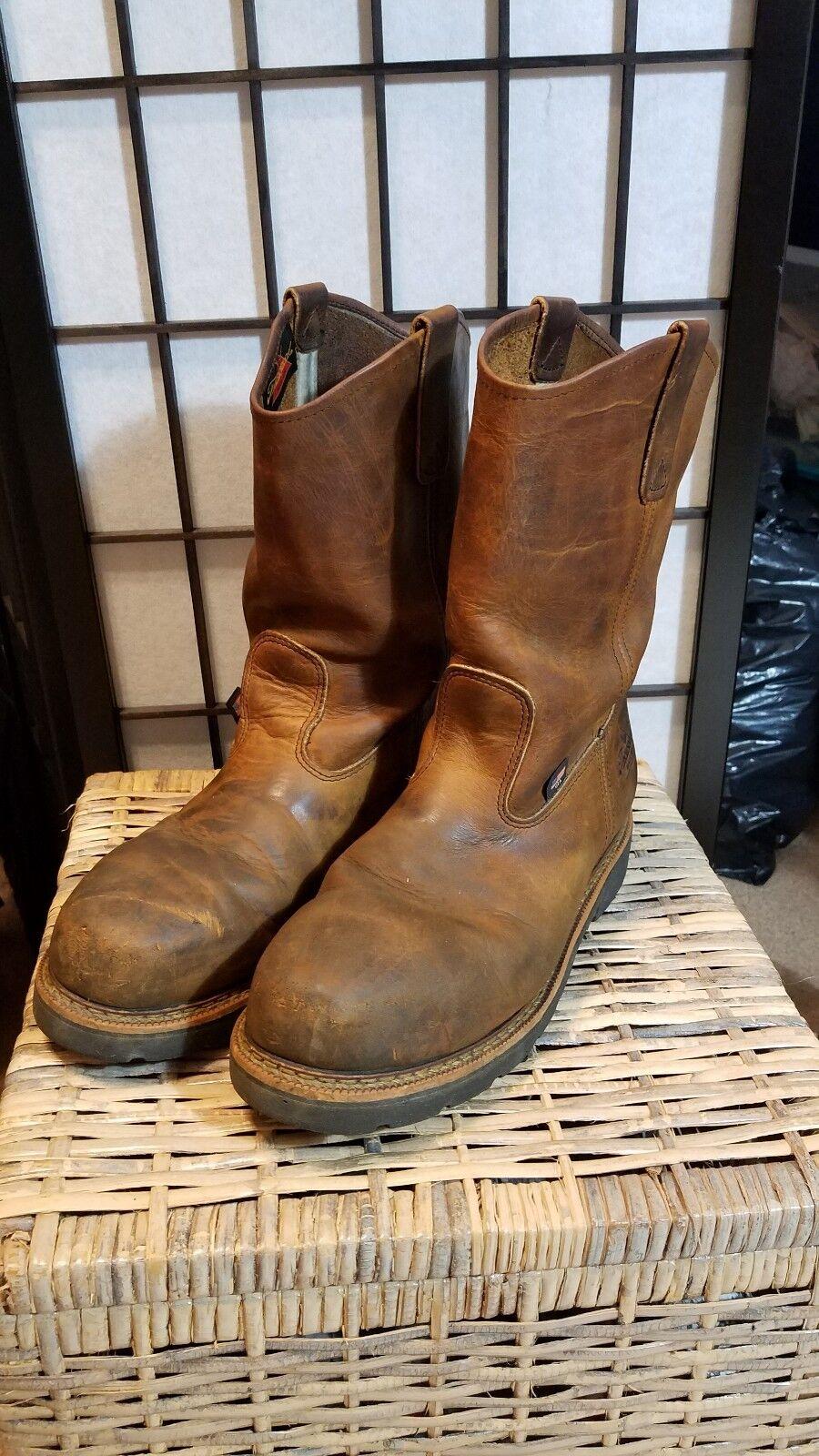 Thorogood American Heritage Wellington Puntera De Acero Tire De Trabajo botas 804-3310