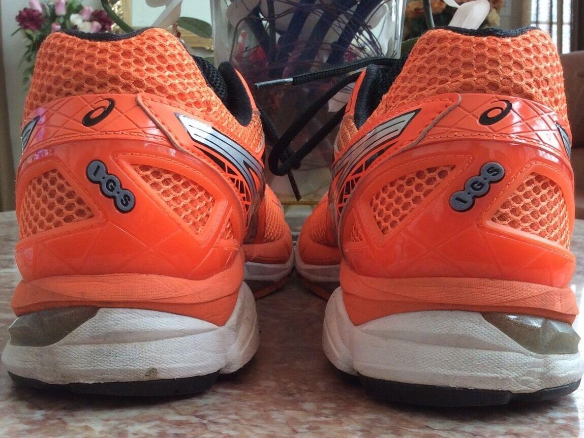 Asics ™ GT-2018 3 Para Hombres Zapatos Zapatos de de de entrenamiento cruzado correr naranja 14 T500N Usado En Excelente Condición 0d5ba7