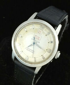 8c0928949eeb Image is loading VINTAGE-WITTNAUER-AUTOMATIC-MENS-WRIST-WATCH-RARE-DAY-