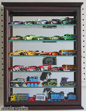 Wall Curio Cabinet Shadow Box Display Case for 1:64 Scale Hot Wheels-(CD06B)-CH