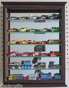 Wall-Curio-Cabinet-Shadow-Box-Display-Case-for-1-64-Scale-Hot-Wheels-CD06B-CH
