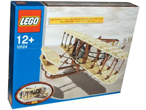 Lego Sculptures 10124 Wright Flyer Flyer Flyer - NEW SEALED 446bcc