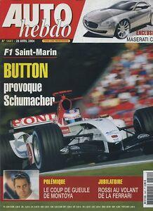 AUTO-HEBDO-n-1441-du-28-Avril-2004-GP-SAN-MARIN-BMW-545i-PEUGEOT-407-V6-MONTOYA